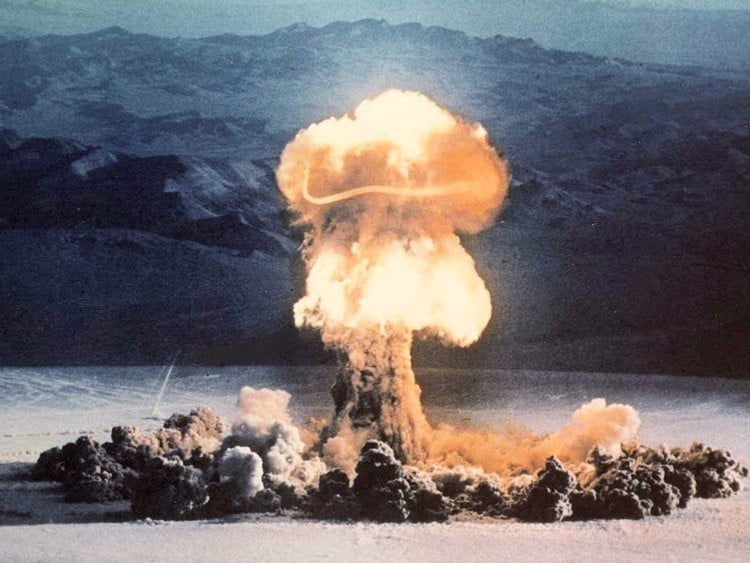Dangers of Exponential Growth: Viruses and Atomic Bombs